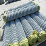 Hot Dipped Galvanized Chain Link Steel Fence