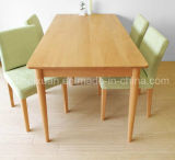 Solid Wooden Dining Table Living Room Furniture (M-X2436)