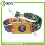 Disposable MIFARE Ultralight EV1 RFID woven wristband