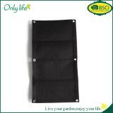 Onlylife High Quality Green Felt Hanging Grow Bag Vertical Planter