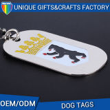 Newest Morden Standard Embossed Dog Tag, Zinc Alloy Pet ID