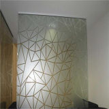 Toughened/Float Frosted/Frosting/Ecid Etched Glass for Decorative Partition