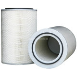 Self-Cleaning Air Filter Supporting Cartridge
