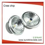 Dimmable G53/GU10 COB AR111 12W LED Spot Light