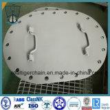 Carbon Steel Ship Manhole Cover Type a