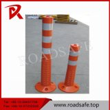 Highway Removable Orange 75cm PU Plastic Traffic Bollard