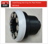 Closed Tampo Printing Ceramic Ring Ink Cup for Pad Printing Machine