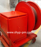 Spring-Driven Cable Drum for Motor Hydraulic Grab Bucket