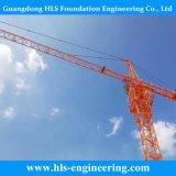 51m 8t Tower Crane Qtz100 Construction Machine in Stock