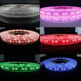 110V ETL 84LEDs Waterproof RGBW LED Strip Light with Remote Controller