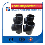 China Pipe Fitting Seamless Carbon Steel (equal tee)
