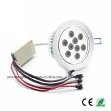 RGBW LED Ceiling Light Recessed Circle Luminaire