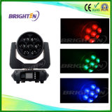 Performance Stage Light 7*40W Moving Wash Head Zoom Lighting