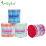 Made in China Colorful Plastic Stick Cotton Swabs