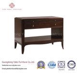 Hotel Bedroom Furniture with Solid Wood Nightstands (3408)