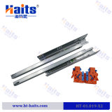 New Design 3/4 Extension Soft Closing Concealed Drawer Slide, Heavy Duty Telescopic Channel Drawer Slide