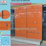 Single Side Metal Slatwall Back Panel Store Wall Shelving Shelf
