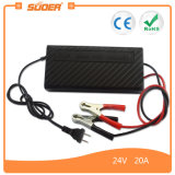 Suoer Manufacture PWM Battery Charger 24V 20A Car Battery (SON-2420B)