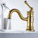 Deck Mounted Faucet Bathroom Chrome Taps