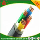 0.6/1kv Yjv 4X50+1X25 XLPE Insulated PVC Sheathed Flame Retardant Copper Core Power Cable