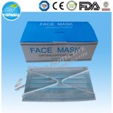 Disposable Tie on/ Earloop Nonwoven PP 3 Ply Face Mask