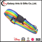 Wholesale China Pet Supply Polyester Pet Products Sublimation Printed Rainbow Dog Collar
