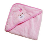 Cheap Price Coral Fleece Baby Hooded Towel Blankets