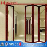 Double Glazing Soundproof Heavy Duty Bi-Folding Doors for Balcony Entrance