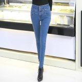 Wholesale Fashion Skinny Tight Cotton Ladies Denim Jeans