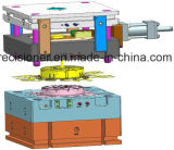 Three-Plate Die Structure, Pressure Die Casting Mold for Shroud Fan (mechanical and electrical)