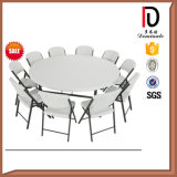 5FT High Quanltiy Plastic Folding Half Round Table (BR-T004)