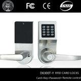 Goodum RFID Card Single Latch Intelligent Digital Password Door Locks with Remote Control