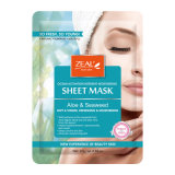 Zeal Natural and Youth Sheet Mask Face Mask with Green Bean &Tea Tree