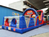 Kids Double Trouble Inflatable Obstacle Course Outdoor Obstacle
