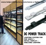 DC12V/24V LED Strip Light Power Track for Pop Display Shop Shelves