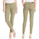 Factory OEM Women 2017 Spring Fashion Denim Jeans Skinny Pants