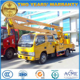 Double Cab Aerial Platform Vehicle 15m Hydraulic Aerial Cage
