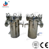 High Quality Stainless Steel Basket Type Filter Housing for Waste Water Stystem