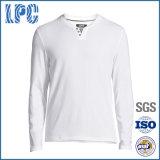 Cotton Fashion White Basic Long-Sleeves T Shirt
