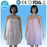 Beauty Salon Dispsoable Nownoven Strapless Nightwear with Elastic