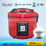 2016 Hot Sale Red Colour Full Body Deluxe Rice Cooker 3L 4L 5L 6L