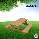 Outdoor Tables and Chairs Combined for Park