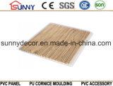 Wooden Color Laminated PVC Panel PVC Ceiling Plastic Wall Panel, Cielo Raso De PVC