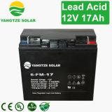 Small 12 Volt 6 FM 17 Battery 12V 17ah