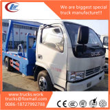 China Hotsales 4X2 3cbm Swing Arm Garbage Truck