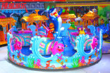 Children Toy Ocean Animal Ride Carousel Playground Equipment