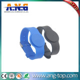 Watch Style Rubber 125kHz RFID Enabled Wristbands for Swimming Pool