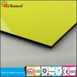 Aluminum Composite Panels Yellow ACP PE/PVDF Coating ACP