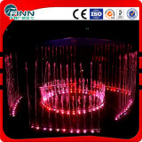 LED Color Changeable Direct Jetting Water Stainless Steel Fountain