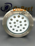 18W LED Light for Outdoor Underground Applications